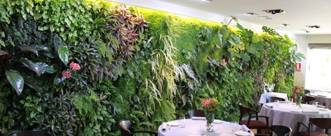 Jardines verticales en el interior for Jardines pequenos horizontales
