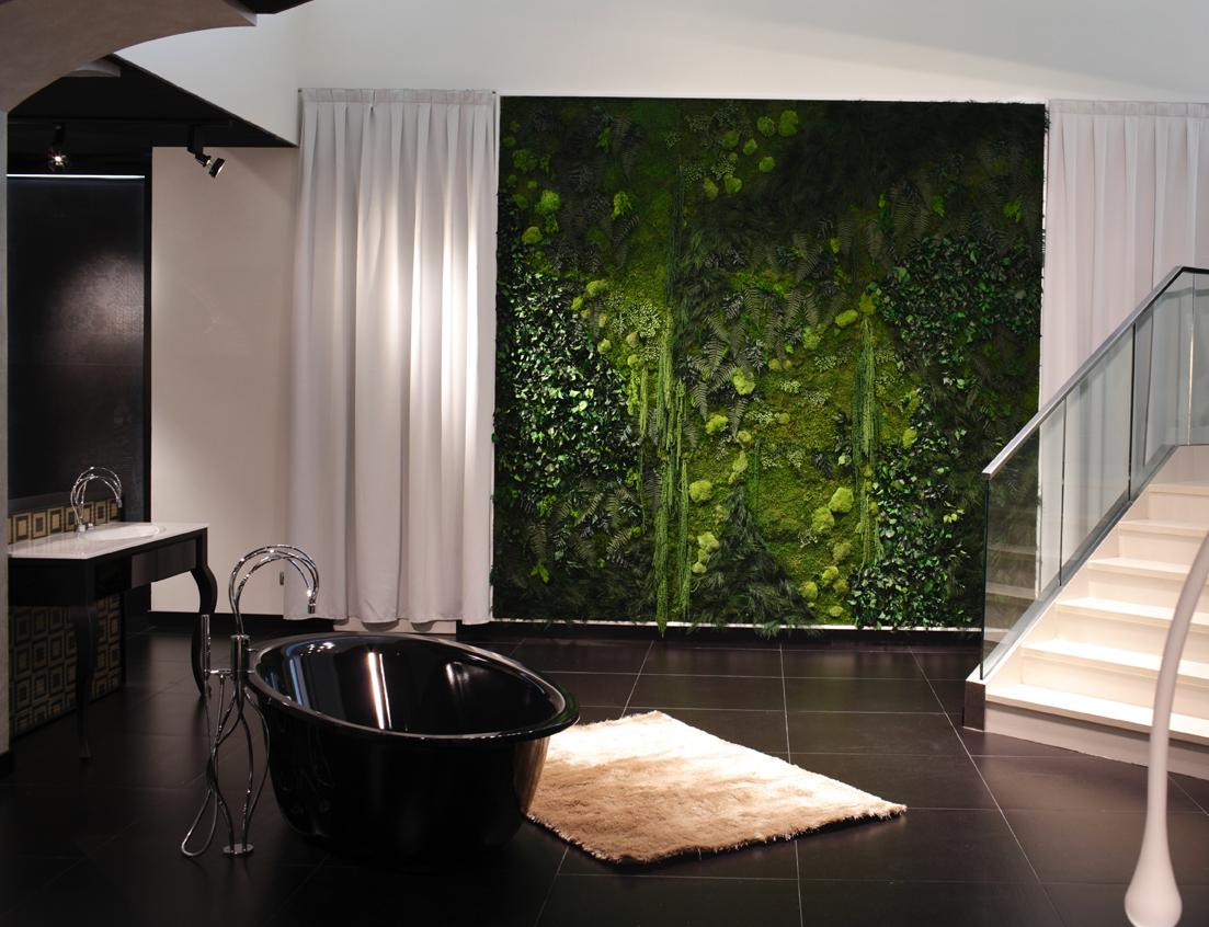 Jardin Vertical Baño:Jardines Verticales En El Interior