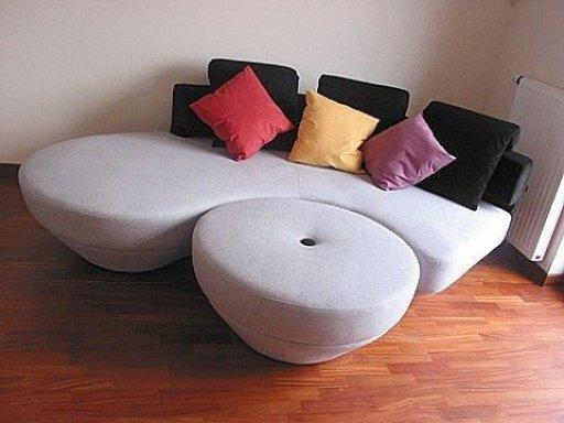 El modelo Unique, sofá dela casa Klun ambienti.