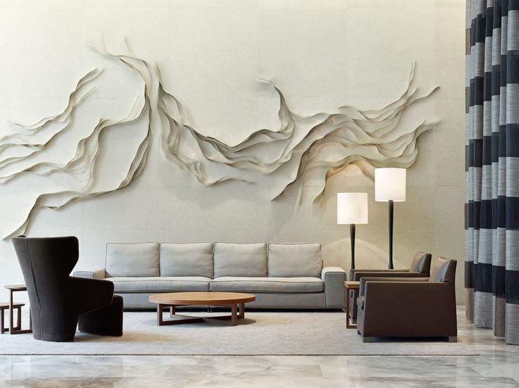 Espectacular diseño de textura en relieve.
