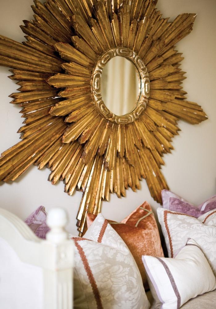 Espejos redondos - Espejos con forma de sol ...