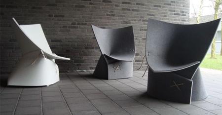 FF1 Chair de los diseñadores  James Van Vossel y Tom de Vrieze.