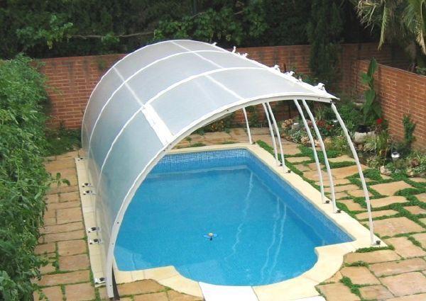 Cubiertas de piscinas for Cubiertas para piscinas