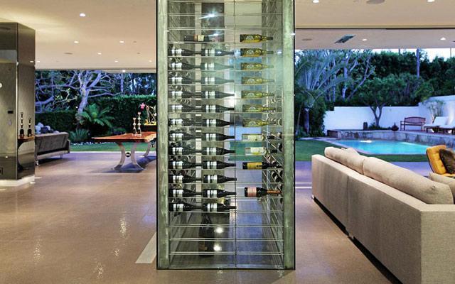 Otro diseño integrado en el espacioso salón.