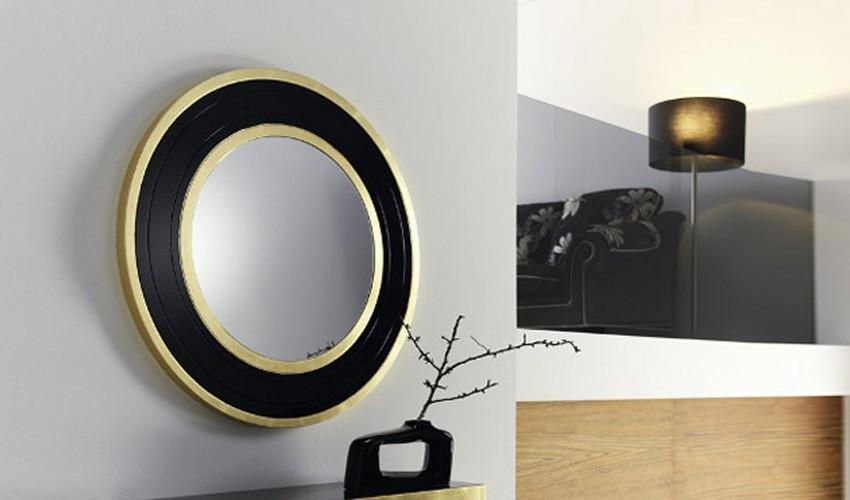 Espejos redondos for Disenos de espejos