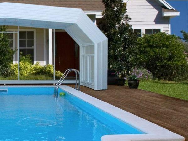 Cubiertas de piscinas for Cobertores para piletas