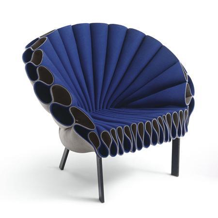 El diseño Peacock Chair creado por Alexandra Jenal.