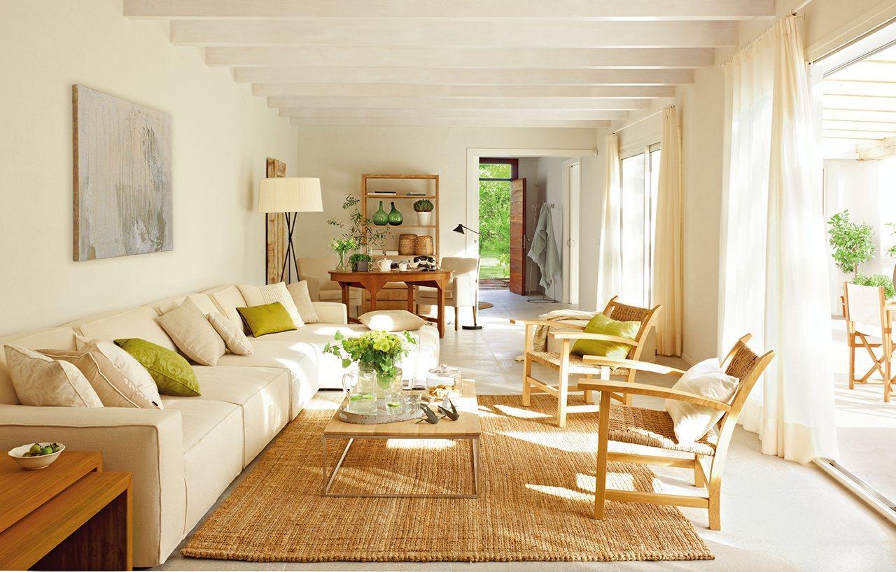Esparto material decorativo - Decorar con alfombras ...