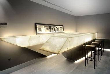 Alabastro decorativo - Barra bar salon ...
