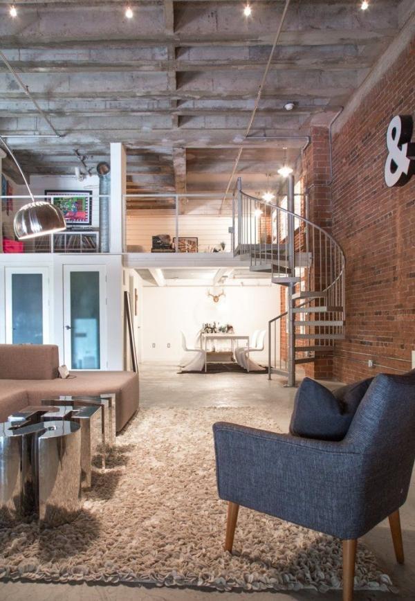 Lofts el industrial m s c lido for Loft rustico