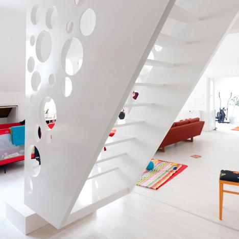 La denominada Emmental Stair diseñada por Biljana Jovanovic.