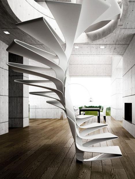 De fibra de vidrio, este concepto diseñado por el estudio italiano Disguincio & Co.