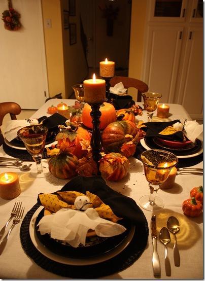 Una mesa ideal para estas fiestas.