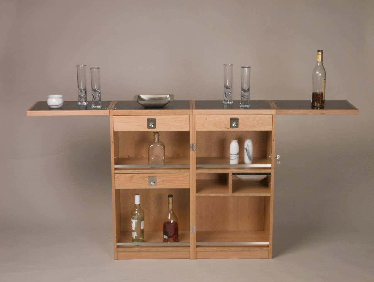 Tu bar en casa for Mueble bar madera