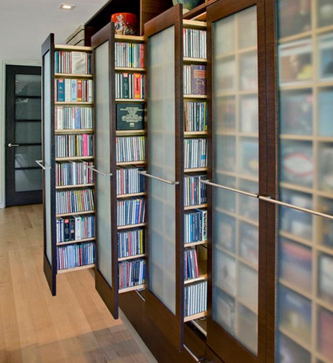 Aprovechar los pasillos con armarios - Muebles para almacenar ...