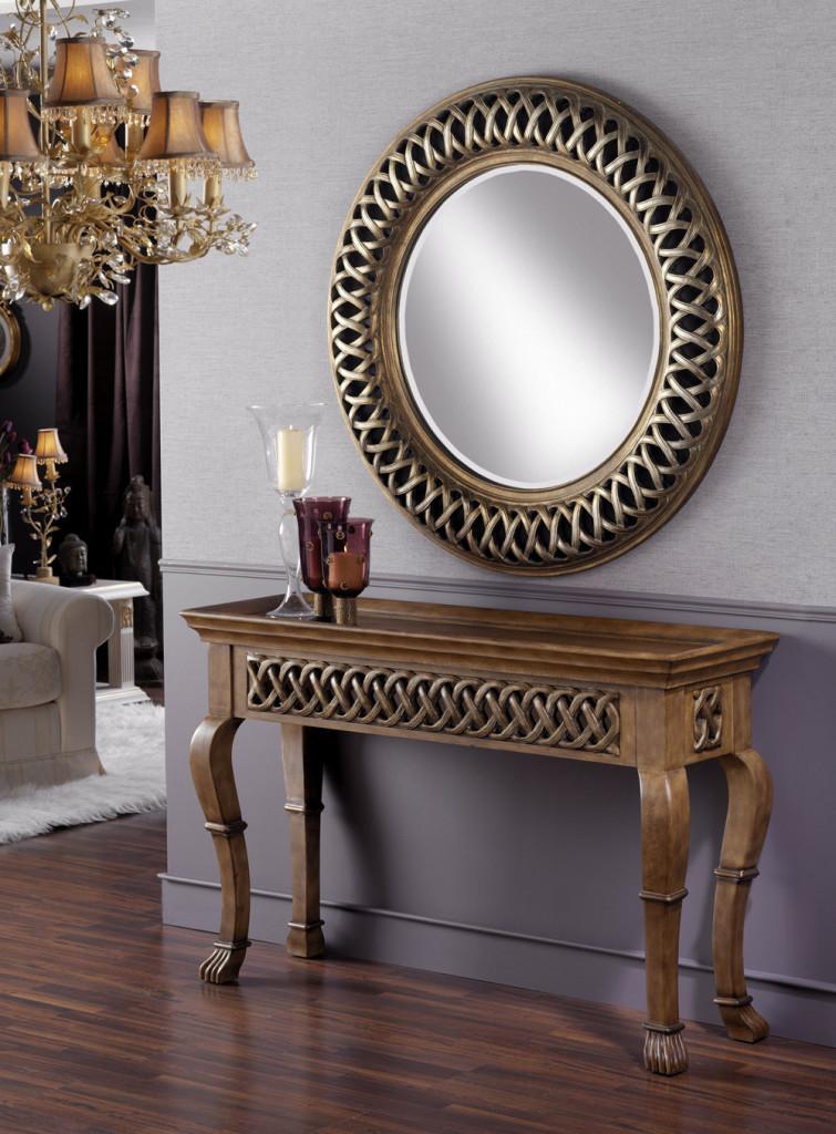 Espejos redondos de originales dise os for Espejos decorativos modernos para sala