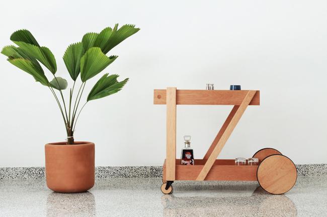 Un moderna creación del diseñador mexicano Jorge Diego Etienne.