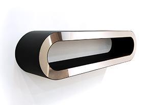 Un diseño que nadie diría que es un radiador, es el Arena de la firma Foursteel.