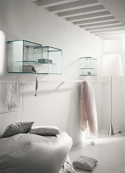 Muebles transparentes sin nada que esconder - Muebles de vidrio ...