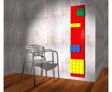 Este diseño que imita las piezas del Lego, es el Brick de la firma Scirocoo.