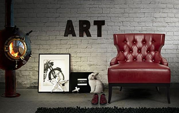 Este diseño de sillón de la firma Brabbu tiene por nombre Maorí.
