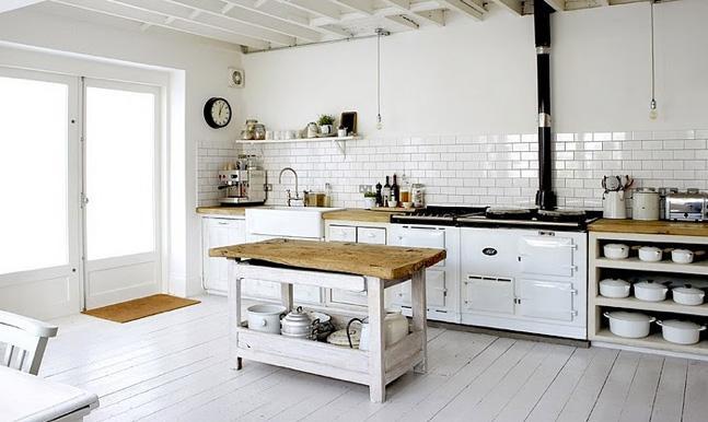 El shabby chic en la cocina for Cocinas antiguas