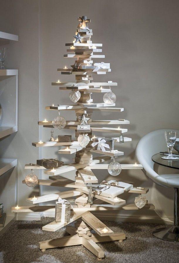 Esta otra versión, se realizo con madera de palets reciclados.