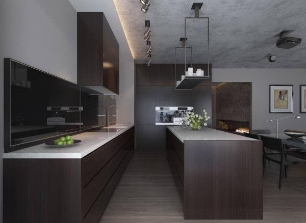 10 Cocinas en madera y gris. | Decorar.net