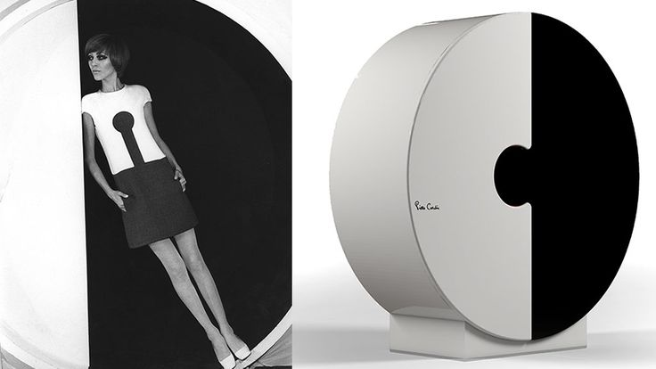 En la imagen, Armario Vestido Forme, diseñado por Pierre Cardin.