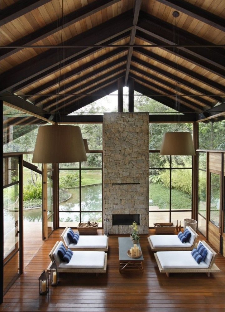 Vigas como elemento decorativo - Vigas madera techo ...