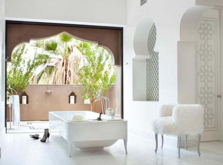Baños Estilo Marroqui:Moroccan Interior Design Bathroom