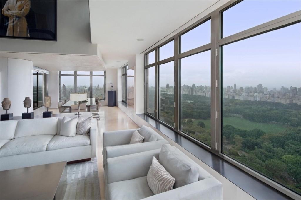 Un moderno apartamento con inmejorables vistas a Central Park.