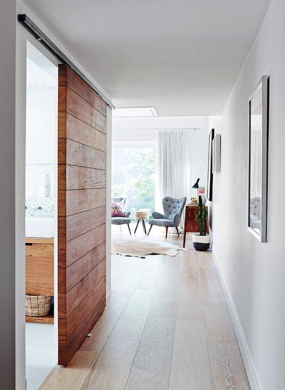Un diseño que combina a la vez el estilo rústico y el minimalista.
