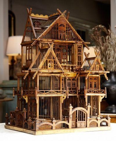 Un espectacular diseño, que recrea la forma de una casa con cuatro plantas.