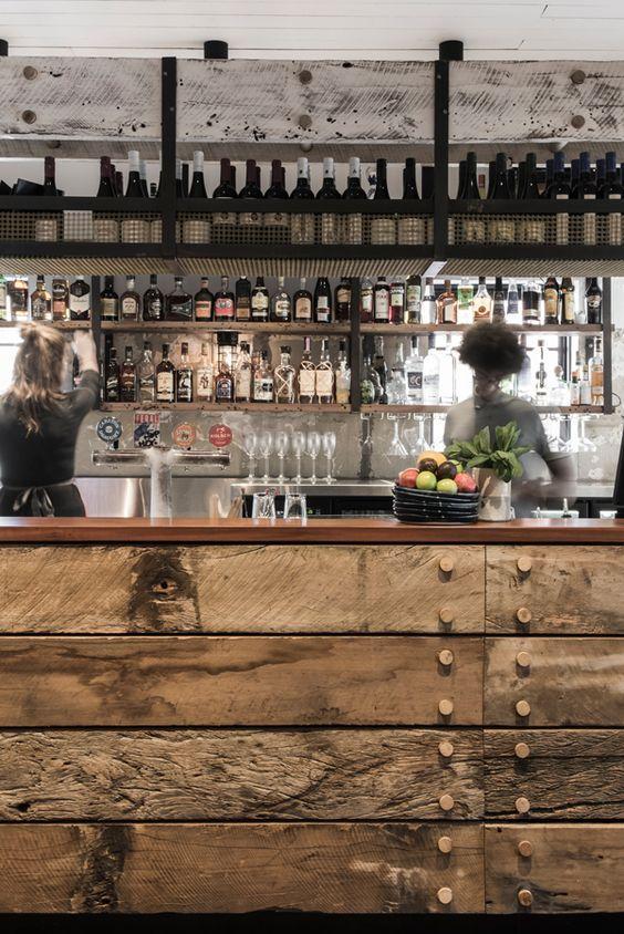 Barras de bar de estilo vintage Decorarnet