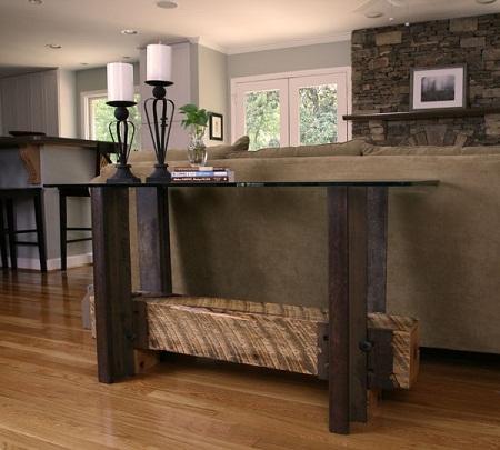 De materiales reciclados - Muebles reciclados de madera ...
