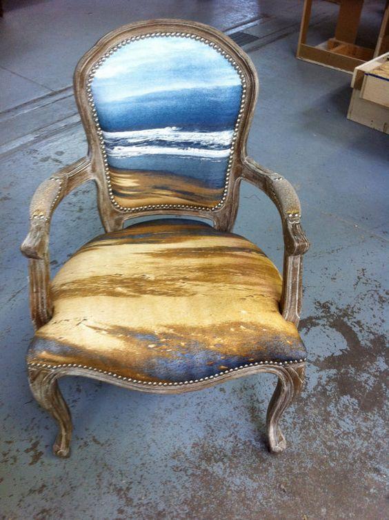 Obras de arte, como original tapicería de tus sillones de estilo clásico.