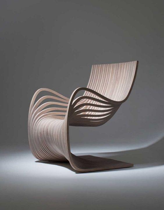 Pipo es el nombre de este sillón, con formas  sugerentes.
