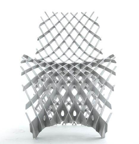 Joris Laarman Lab nos muestra su interesante, 3D printed aluminium chair.