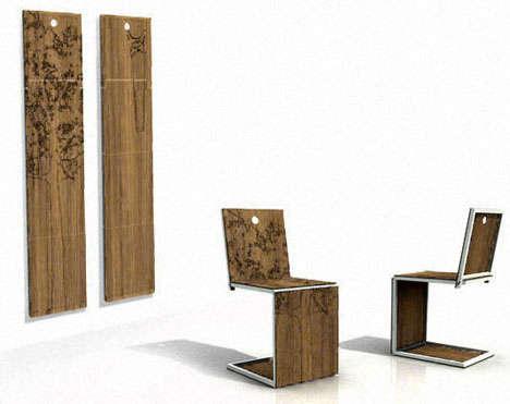 Un diseño, dos utilidades, como el de este diseño de sillas.