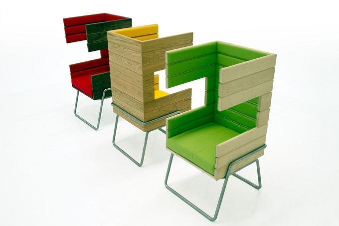 Gi Booth, es el nuevo concepto de sillón, creado por Jakob Gomez y Karla Aurora González Villarreal.