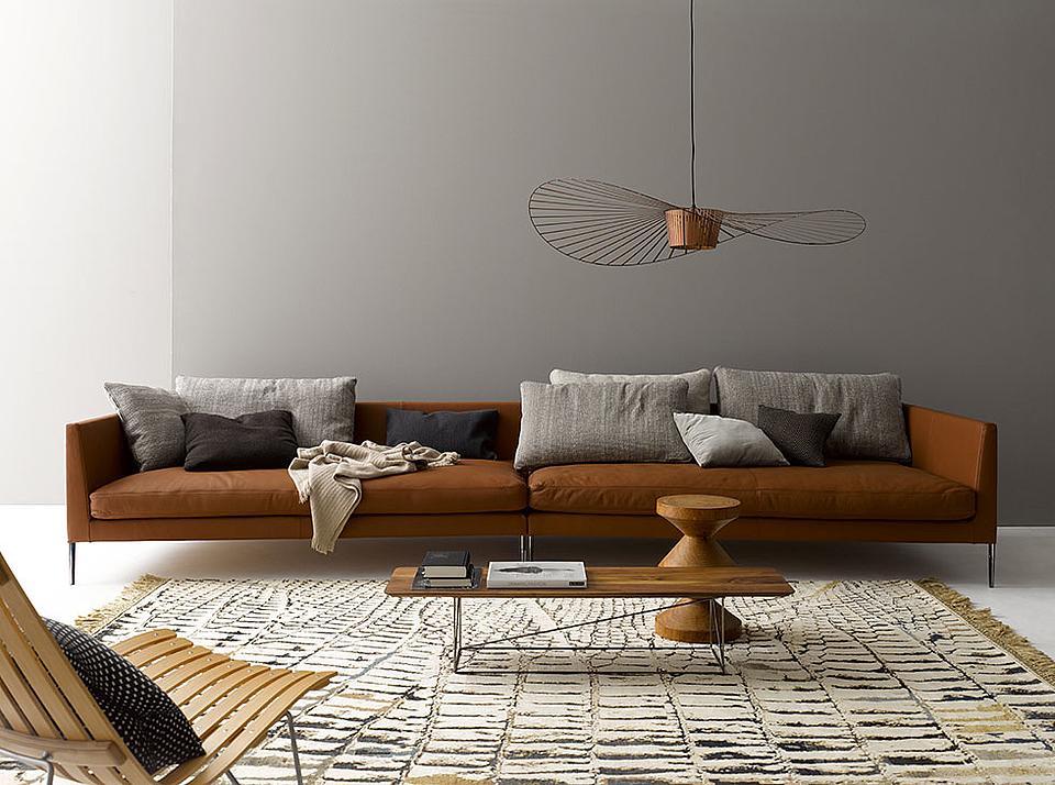 Pilotis un diseño de sofá muy versátil, de la firma Métrica.