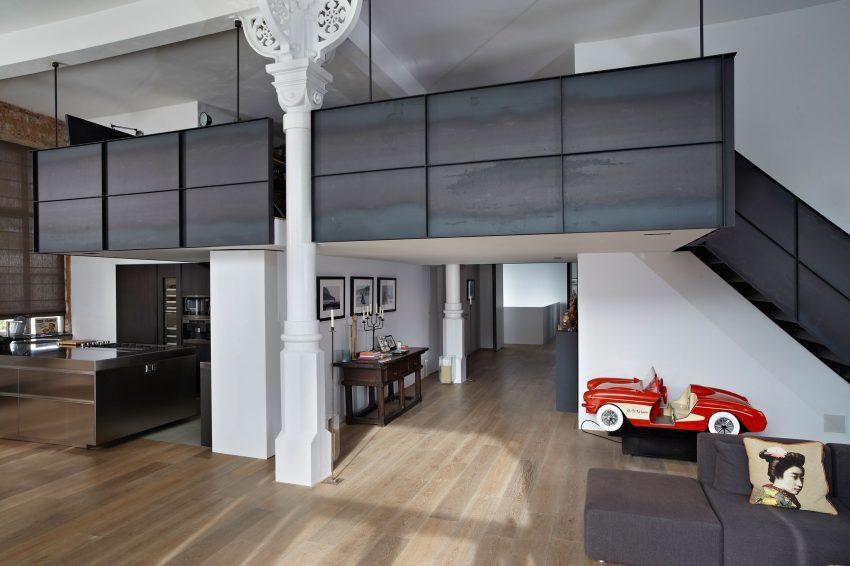 Una imagen del espacio común, de esta esplendida vivienda.
