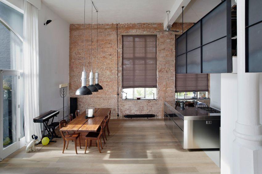 Aspecto entre el estilo minimalista y el industrial, para esta zona de la casa.