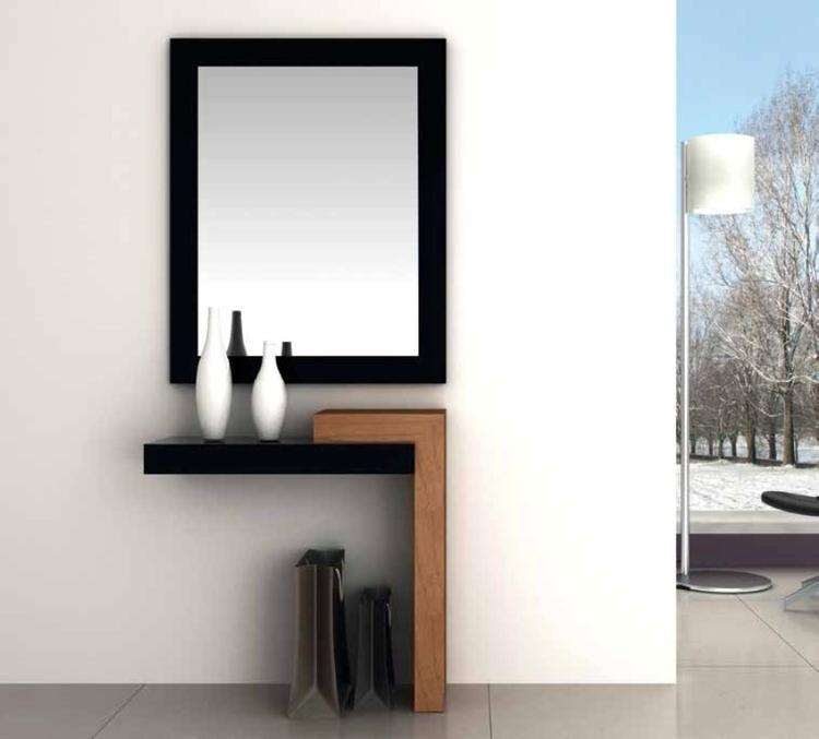 Consola Alex, un moderno diseño de líneas rectas.