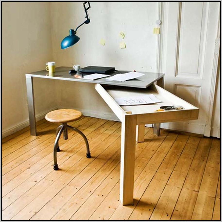 Otra fabulosa idea para ampliar nuestro espacio de trabajo, sin necesidad de tener más muebles.