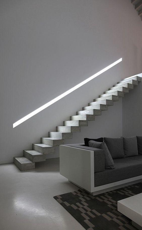 Iluminar escaleras - Iluminacion de escaleras ...