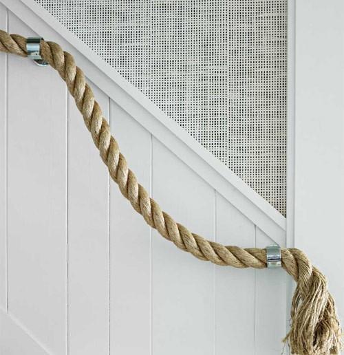 Cuerda con aires marineros - Pasamanos de cuerda ...