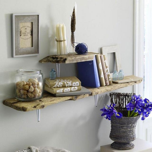 Una buena combinación de tonos y materiales,consigue rincones con mucho encanto.