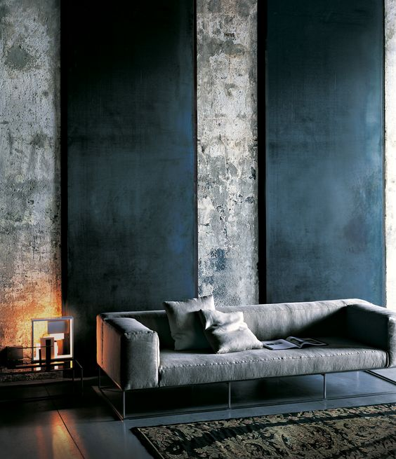 Este azul, es también perfecto en ambientes industriales y urbanos.